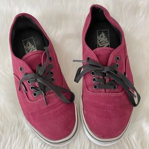 Vans The Authentic maroon unisex sneakers